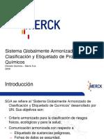 Charla Seguridad Reactivos Merck