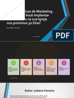 eBook 5 Dicas de Marketing Digital Para Igrejas