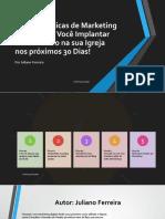 eBook 5 Dicas de Marketing Digital Para Igrejas
