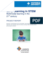 Early Learning in Stem Final Report