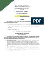 Govt 390 - Fall 2016 Syllabus