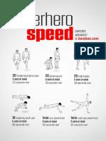 Superhero Speed Workout