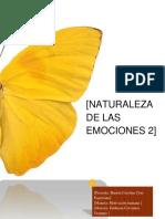 Naturaleza Del Las Emociones Parte 2