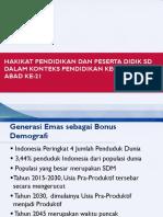 Materi PPT M1 Kegiatan Belajar 1 Hakikat Pendidikan dan Peserta Didik SD.pptx