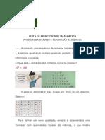 Pré-cálculo 1 Parte 2