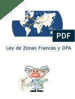 Ley de Zonas Francas y DPA