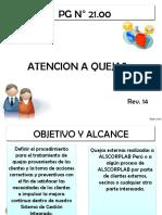 Pg 21 Atencion a Quejas