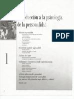 Capítulo 1 Introducción a La Psicología de La Personalidad