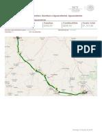 Ruta sugerida_ De Querétaro, Querétaro a Aguascalientes, Aguascalientes