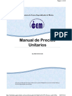 Manual de Precios Unitarios