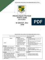 Perancangan Strategik Panitia Sains SK Serasot 2019 - 2021