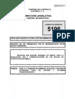 Iniciativa 5196 Guatemala