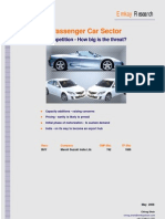 Passenger Car Sector Report