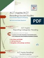 ACT Aspire SS Reading