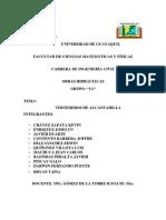 Proyecto Alcantarillas Ejercicios Foinal