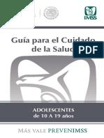 Guia Salud Adolescente 2018