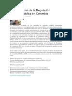 Modernización de La Regulación Contable Pública en Colombia