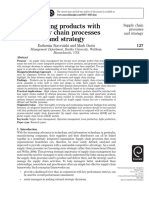 Aligning Products With Supply Chain Processes and Strategy