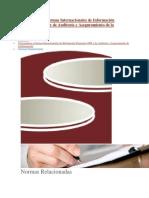 Nuevas Normas Para Atender en Materia Contable y de Aseguramiento en 2019