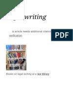 Legal writing - Wikipedia.pdf
