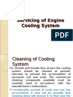 Servicing of Cooling System and Engine Trouble shootings-1.ppt