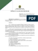 Decreto 5113 22 Junho 2004 532712 Normaatualizada Pe