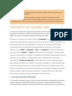 CONTRATO DE USUARIO AWS - AWS Customer Agreement - ES_(2018!11!01)