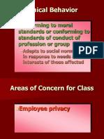 HRM Ethics