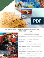 Swaziland Kingdom of Eswatini Strategic Road Map 2018 to 2023 Draft