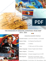 Swaziland Kingdom of Eswatini Strategic Road Map 2018 to 2023 Draft
