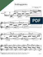 Solfeggietto - CPE Bach