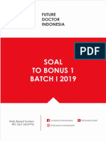 [Fdi] Soal to Bonus 1 Batch i 2019