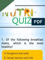 Nutri Quiz 2016