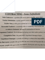 Contracting Some Definition