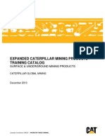 Expanded Cat Mining Products Training Catalog