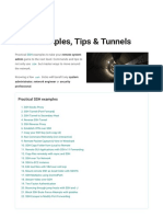 22 SSH Examples Practical Tips and Tunnels _ HackerTarget.com