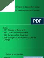 Chapter 15-Community & Ecosystem Ecology