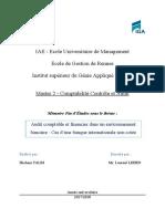 Mémoire - MII CCA HTALBI 1718 - Audit Bancaire - LV