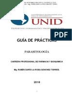 Guia de Practicas de Parasitologia Unid 2018 - II