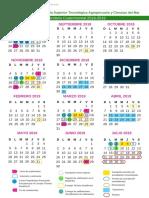 Calendario SAETA_cuatrimestral