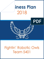Business Plan 2018