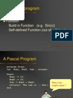 Procedure Pascal