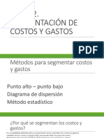 Tema 2. Segmentación de Costos Explicado