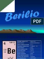 Clase de Berilio