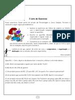 I Lista de Exercícios I Trimestre pdf- 8° ano 2019