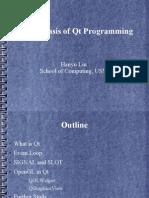 Qt Presentation