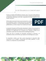 Concepto Desarrollo Comunitario