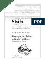 Educação de Adultos_politicas e praticas