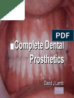 Complete Dental Prosthetics