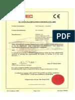 Certificacion King-k2 Segma
